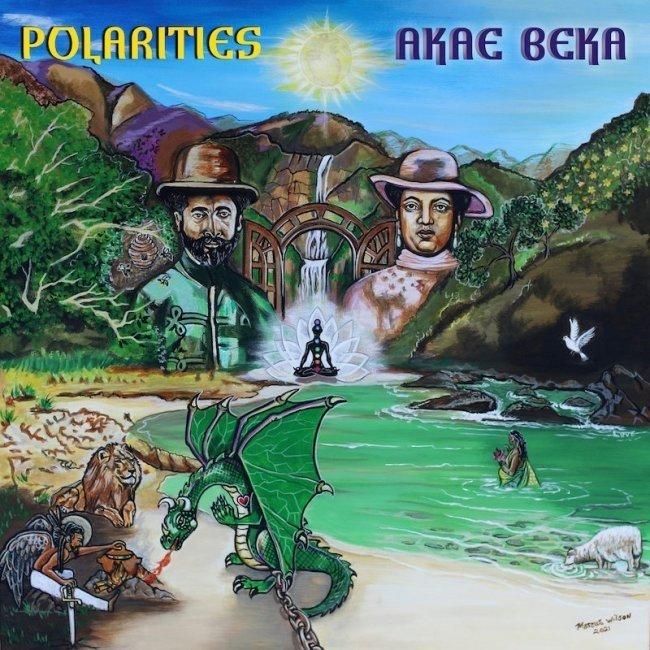 "St. Croix, VI. Akae Beka's ""Polarities"" Album Released TODAY May 21, 2021 - Listen/Order Here"