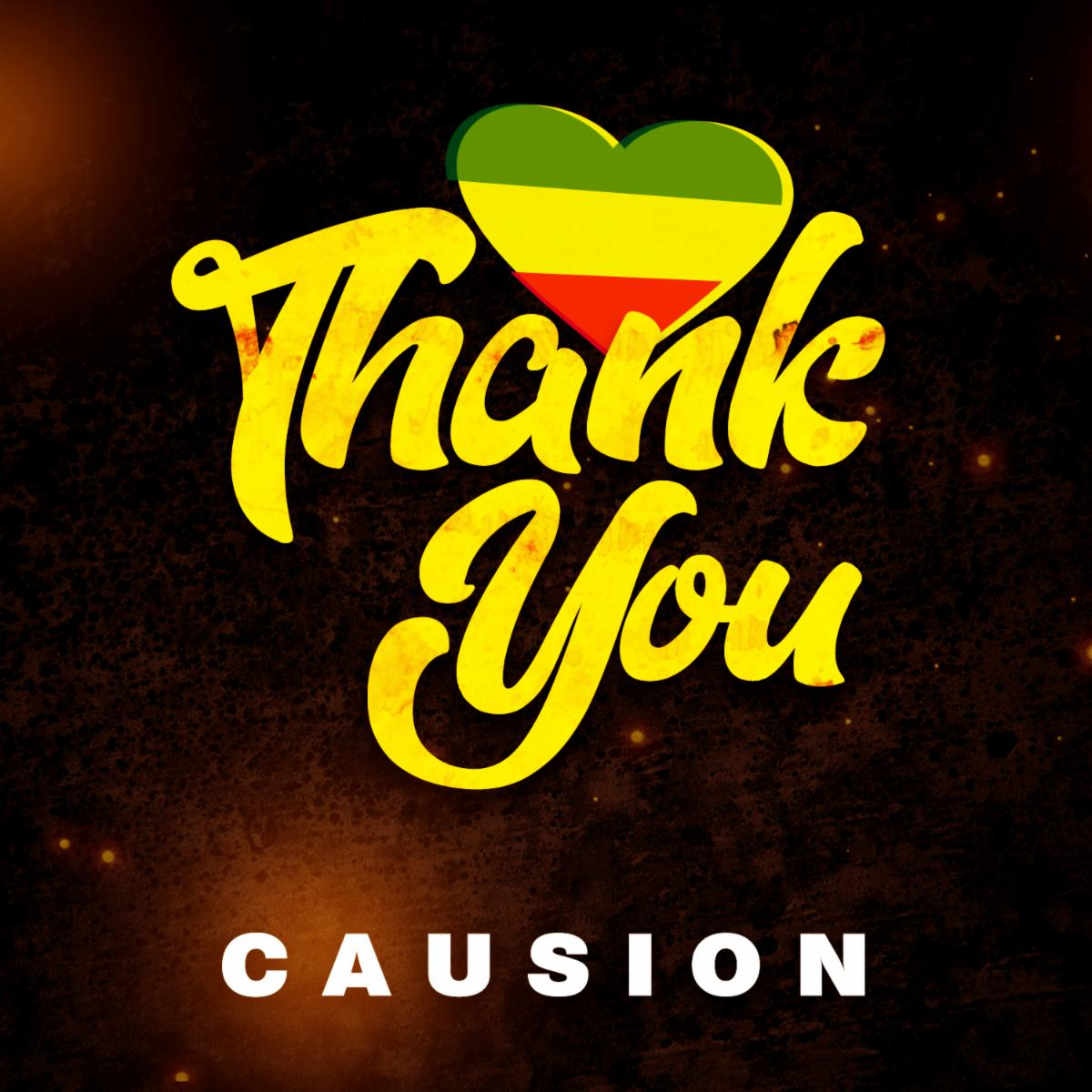 """ARTISTE """"CAUSION"""" NEW VIDEO RELEASE: """" THANK YOU"""""""