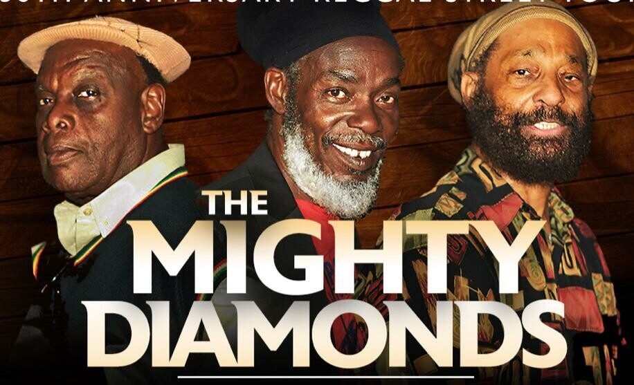 The Mighty Diamonds 50th Anniversary Online Celebration Concert!!! Friday, June 11, 2021