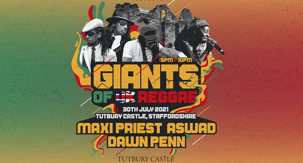 Giants Of UK Reggae head to Staffordshire on 30th July