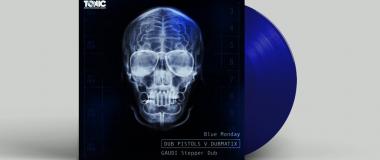 Dub Pistols, Gaudi and Dubmatix Limited Edition Blue Vinyl