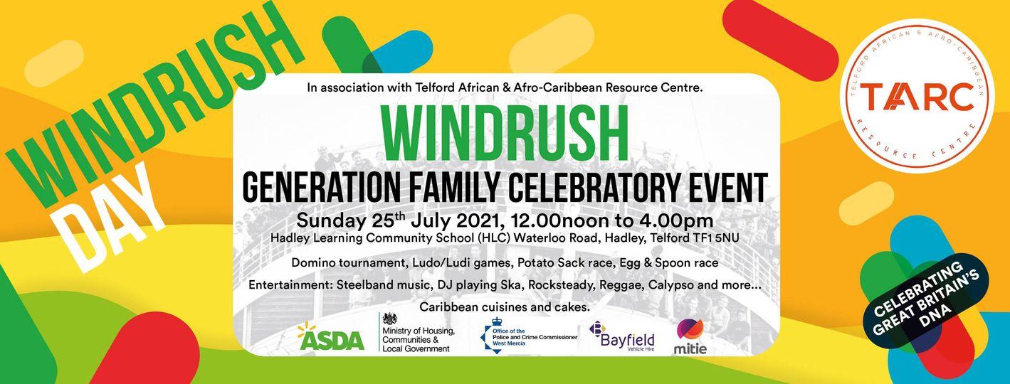 Windrush Generation Family Celebratory Event