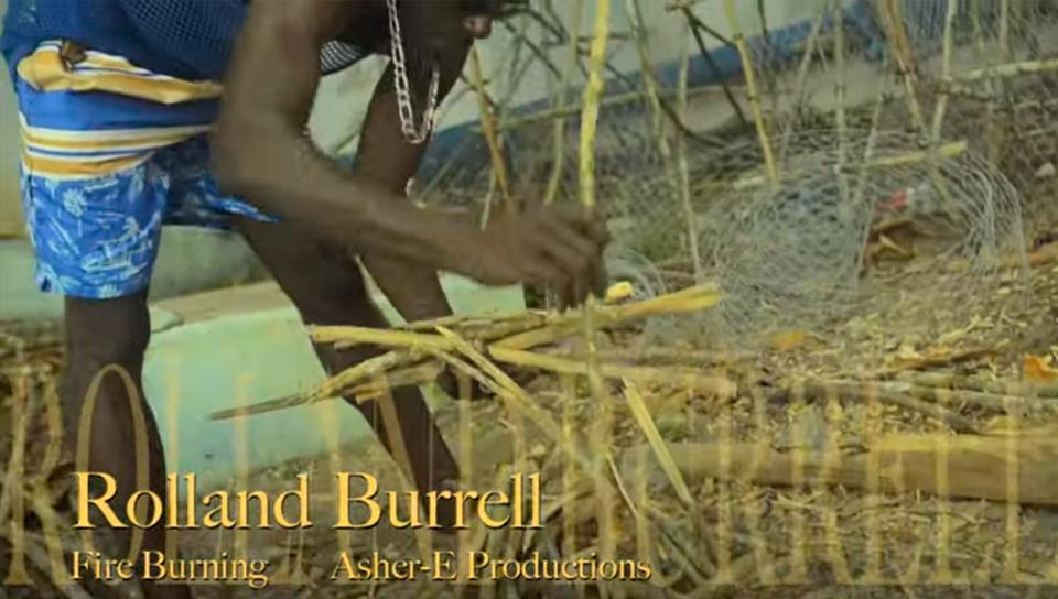 Video: Roland Burrell - Fire Burning