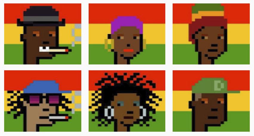 Cryptorastas: meet the first NFTs of the reggae scene
