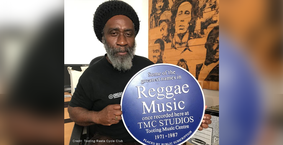 Famous Reggae studio remembered in Tooting