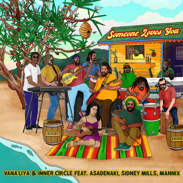 Vana Liya / Inner Circle feat Asadenaki / Sidney Mills / Mannix - Someone Loves You Honey