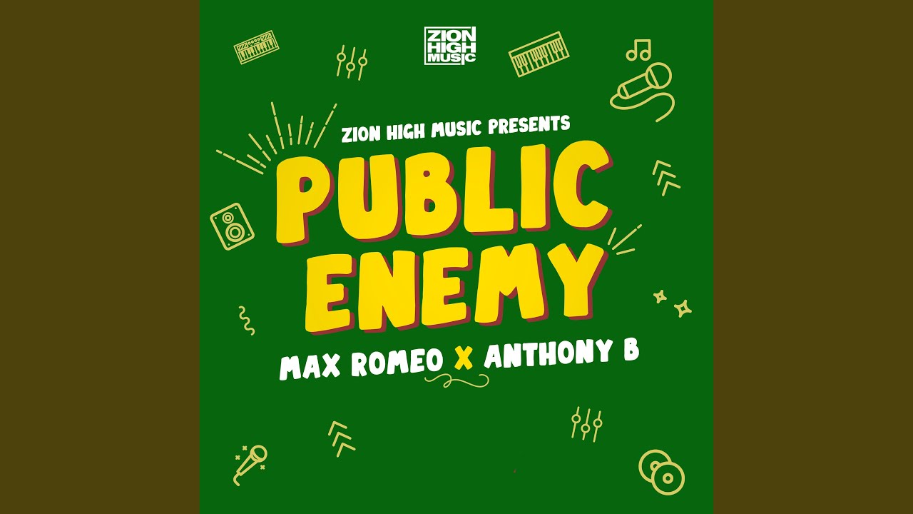 Audio: Anthony B & Max Romeo - Public Enemy [Zion High Music]