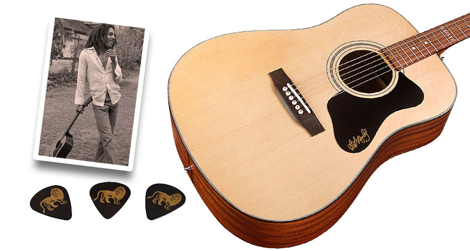 Guild Guitars announce collaboration with the Bob Marley Family