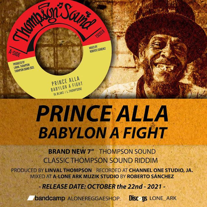 Prince Alla - Babylon A Fight